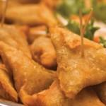 Fried samosas. Photographer: Marc Seyon/Very Caribbean Ltd (verycaribbean.com)