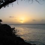 Sunset at Crown Point Tobago. Photographer: Caroline Taylor
