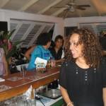 Roses Hezekiah at the bar. Photographer: Courtesy Veni Mangé