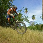 Mountain biking is a growing sport in Tobago. Photographer: Skene Howie