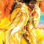 A Kiddies Carnival masquerader. Photographer: Mariamma Kambon
