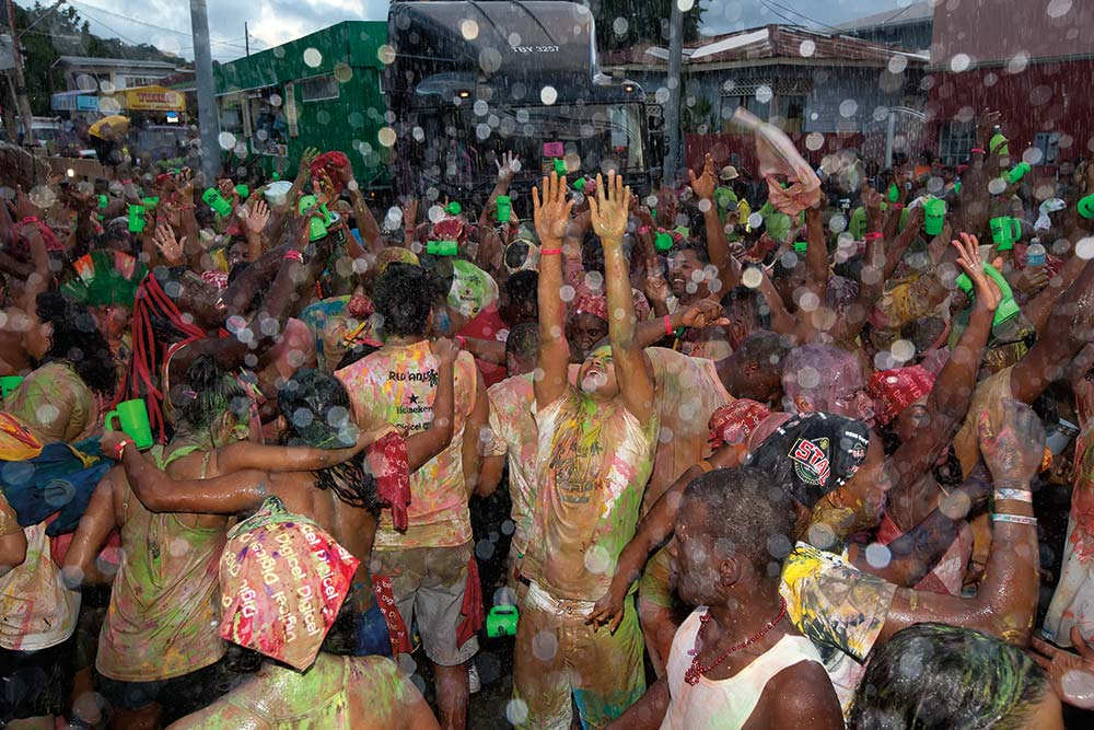 J'Ouvert morning in Port of Spain, Trinidad. Photo: Chris Anderson