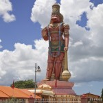 The Hanuman Murti and Ashram, Trinidad. Photo: Ariann Thompson
