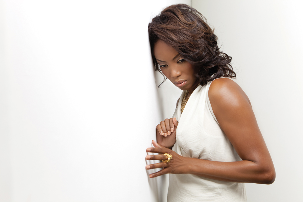 Trinidad singer and actress Heather Headley