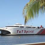 The Trinidad & Tobago Spirit ferry. Photo: AffordableLuxuryApartments-Tobago.com