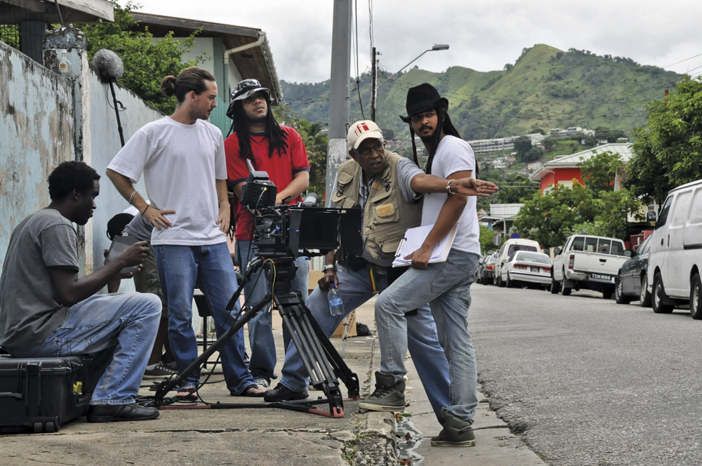 Filming The Cool Boys in Trinidad. Courtesy Michael Mooleedhar