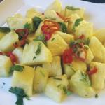 Trinidad & Tobago pineapple chow. Photo: caribbeanpot.com