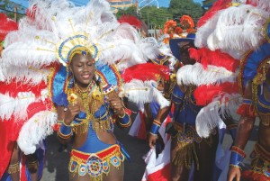 Contemporary Tobago Carnival Mas Player
