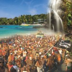 A composite of images from Tobago mud mas and Carnival cool-down. Photo courtesy the THA.