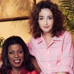 """Lorraine Toussaint with co-star Annie Potts in """"Any Day Now"""". Courtesy Lifetime TV"""