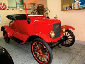 Vintage Red T Ford. Courtesy Angelo Bissessarsingh