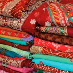Colourful Fabrics. Photograph by Anu Lakhan