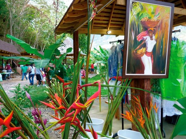 The San Antonio Green Market. Photograph by Pat Ganase
