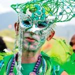 Masquerader. Photograph by Warren Le Platte