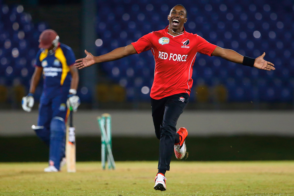 Cricketer Dwayne Bravo. Photo courtesy WICB Media/Ashley Allen