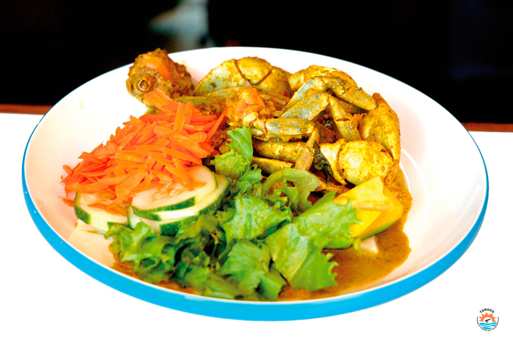 Tobago curried crab. Photo courtesy the THA