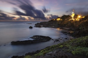 Galera Point at dawn. Photo by Chris Anderson
