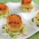 Broiled scallops. Photo courtesy Kaizan Sushi