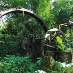 Arnos Vale Waterwheel. Photo by Ariann Thompson/MEP Publishers