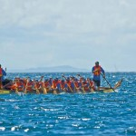 Dragon boat racing. Photo by Martin Farinha