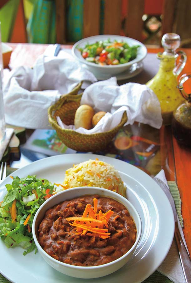 Delectable vegetarian fare. Photo by Ariann Thompson/MEP Publishers