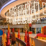 Gulf City Mall decorated for Christmas. Courtesy Gulf City Mall