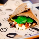 Breakfast wrap. Photo courtesy the G Spot food truck