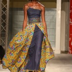 A Tobago Gyul design on the catwalk. Photo by Jael Dirpaul of LimeTT