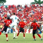 """The Soca Warriors ar seeking their second World Cup berth as they play """"hexagonal"""" qualifiers through 2017. Photo courtesy the Tourism Development Company"""