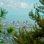 View of Port of Spain from Chancellor Hill. Photo by Chris Anderson