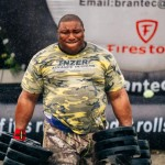 Grenadian challenger Redon Gill. Photo courtesy Strongest Man Competition