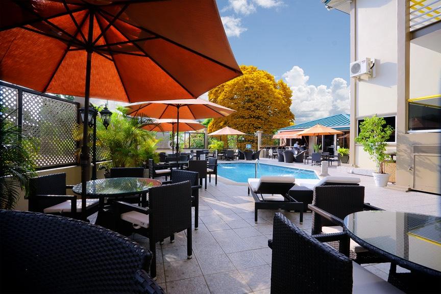Poolside. Courtesy Tradewinds Hotel