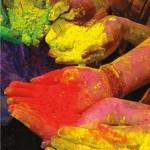 Abir colours used during Phagwa or Holi. Photo by Edison Boodoosingh