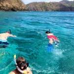 Snorkelling in Speyside, Tobago. Photo by Stephen Broadbridge
