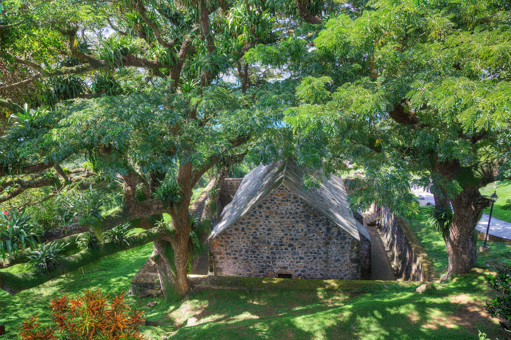Fort King George, Tobago. Photo by Chris Anderson