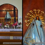 Siparee/Supari Mai or the Black Madonna/Virgin at the Church of La Divina Pastora (the Divine Shepherdess) in Siparia. Photo: Ariann Thompson/MEP Publishers