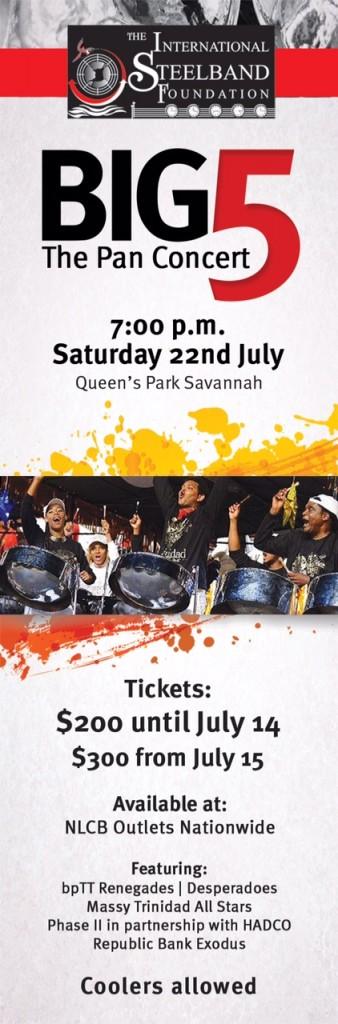 Big 5 Pan Concert