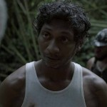 A scene from The Cutlass, with lead actor Arnold Goindhan