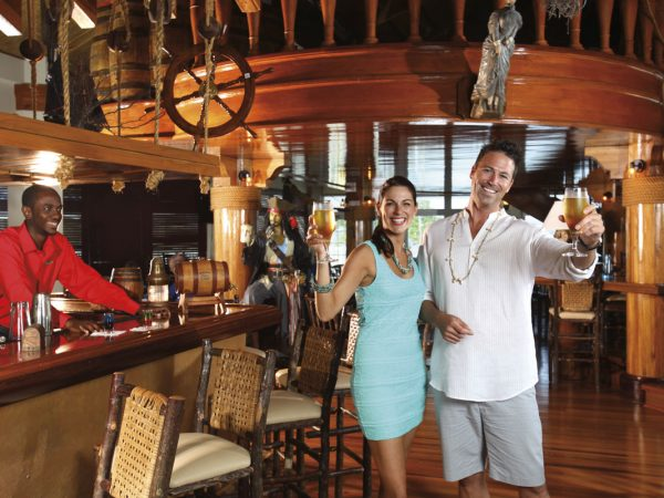 The Robinson Crusoe pub at the Magdalena Grand Beach & Golf Resort