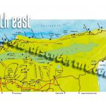 North and Northeast Trinidad Map. Copyright MEP Publishers 2017