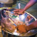 A steelpan. Photo courtesy the TDC