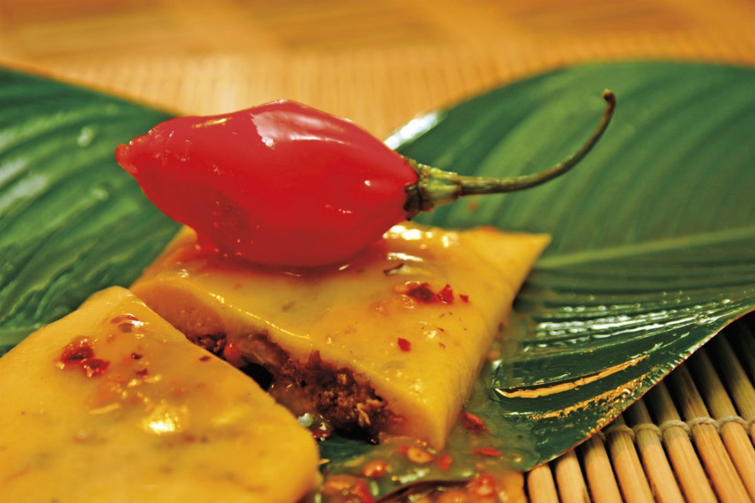 Pastelles are an integral part of a Trini Christmas. Photo courtesy the TDC