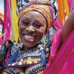 A masquerader from The Lost Tribe. Photo by Rapso Imaging