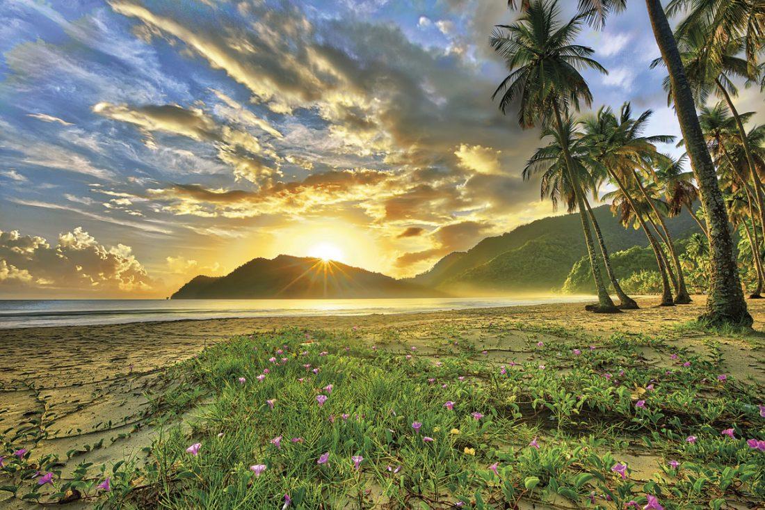 Sunrise at the ever-popular Maracas beach. Photo by Chris Anderson