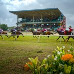 Horse racing at the Arima racetrack. Photo by Chris Anderson