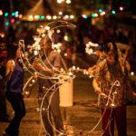 Lighting deyas at Divali. Photo by Jason Audain