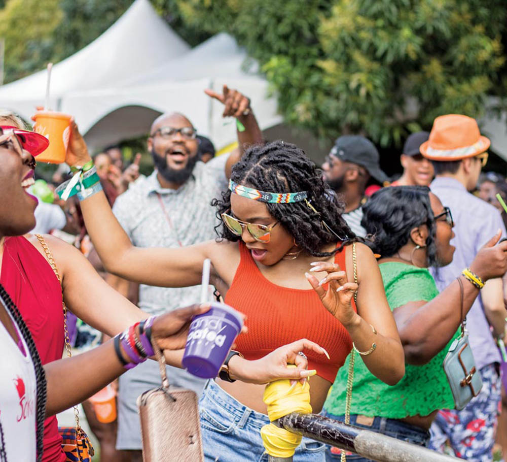 Candy Coated Love Fest is held on Carnival Friday. Photo courtesy Candy Coated Events