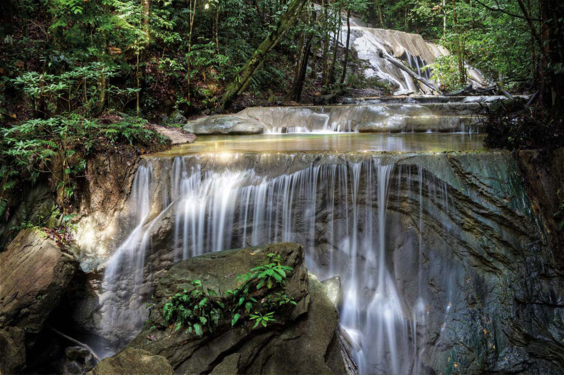 The Turure water steps (Cumaca Falls) near Valencia. Photo by Chris Anderson