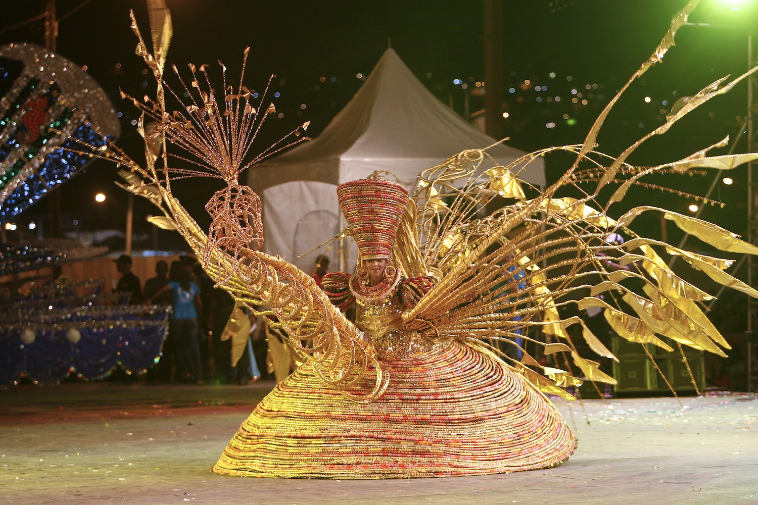 A Queen of Carnival competitor. Courtesy the TDC
