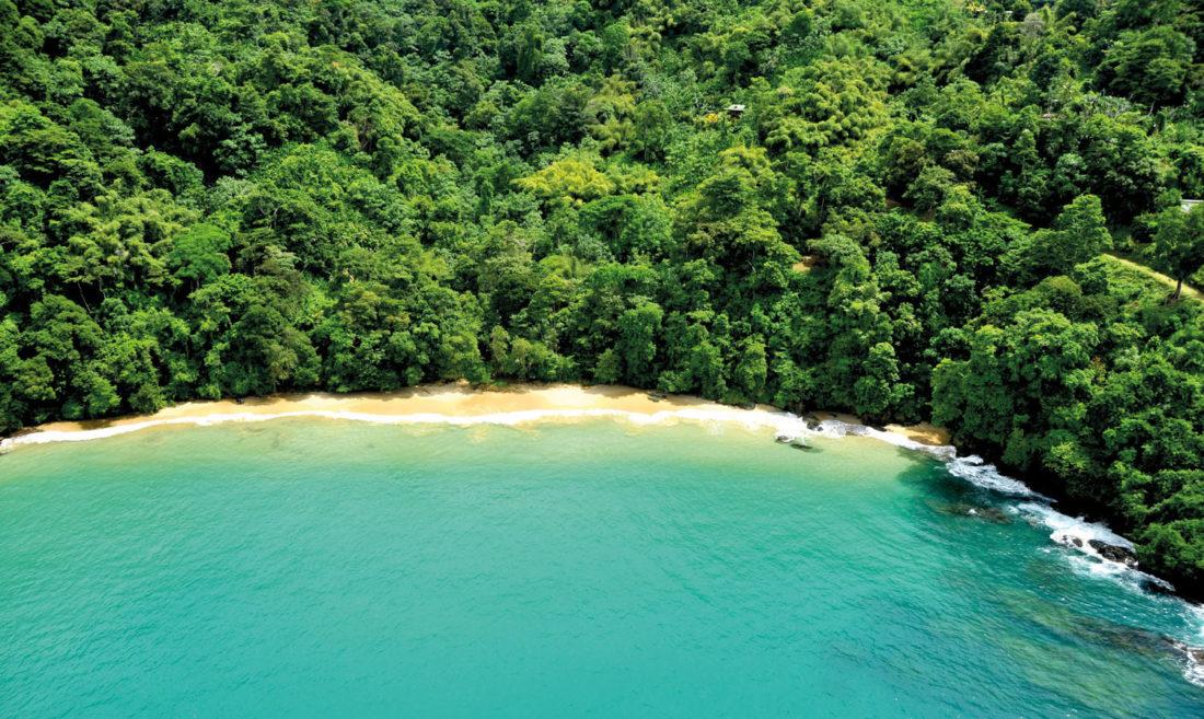 Pirate's Bay. Photo courtesy Tobago Tourism Agency